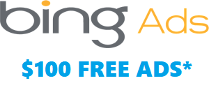 $100 Free Bing Ads Coupon Promotion